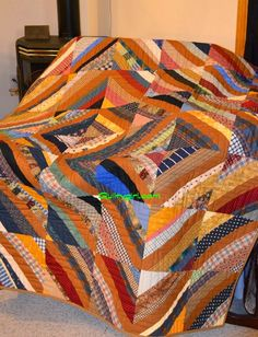 Alycia Quilts: Q4 Finish A Long ~ Plaid String Quilt with a Twist