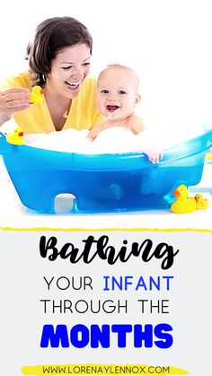 Bathing your infant through the months. TIps and hacks to make bath time fun for your baby. Baby Washcloth, Baby Bath Time, Baby Arrival, All Family, Family Life, Baby Hacks, Baby Tips, Baby Ideas, Parenting Advice