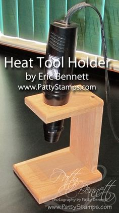 Heat Tool Holder Offer ~ I hope this gal doesn't mind me pinning this. This heat tool holder is so dang awesome! I think I have to get me one!!