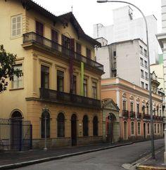 Patio do colégio sé. Casa rosa, solar da Marquesa de Santos Domitila de Castro Canto e Melo, amante de Dom Pedro I.