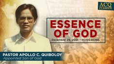ACQ CLASSICS: Essence of God Son Of God, Spiritual Enlightenment, Spirituality, Social Media Pages, Apollo, Jesus Christ, Worship, Father, Bible