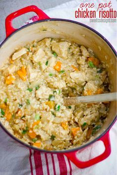 One Pot Chicken Risotto   18 One-Pot Dinners You Can Make In A Dutch Oven