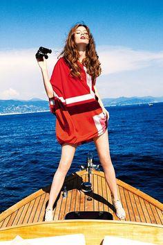 Dior Cruise 2012 - Monika Jagaciak by Ellen Von Unwerth