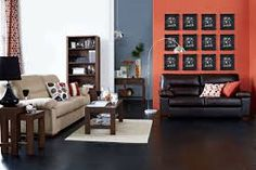 Image result for dual colour feature wall