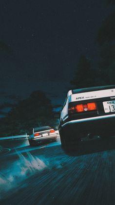 Dope Wallpapers, Animes Wallpapers, Fancy Cars, Cool Cars, Tokyo Drift Cars, Best Jdm Cars, Jdm Wallpaper, Initial D, Street Racing Cars