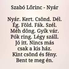 A small poem by Szabó Lőrinc: Nyár - Duolingo Small Poems, Vocabulary, Math Equations, Quotes, Google, Short Poems, Quotations, Quote, Manager Quotes