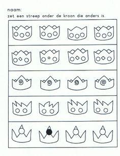 .werkblad: welke kroon is anders?