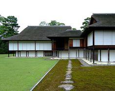 Katsura Villa Kyoto - contemporaneous with the Palais de Versailles ( I know which I prefer...)