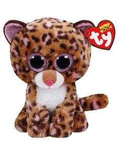 Patches Leopard 6 Inch Beanie Boo