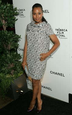 Kerry Washington Photo - CHANEL and Tribeca Film Festival Artists Dinner - Arrivals (2009)