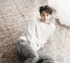 EXO Kai looking soft and pure. I like it #jongin