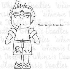 People Digi's -  Whimsie Doodles