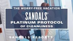 Sandals Platinum Protocol of Cleanliness | World's Best All-Inclusive Re...