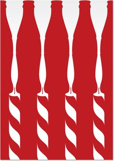 Coca-Cola Contour 100 Posters by Turner Duckworth (Poster Design)