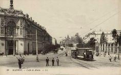 Fotos antiguas de Madrid: La Calle de Alcalá (1910) | Secretos de Madrid