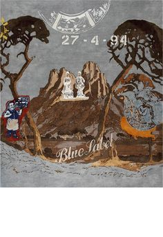 Blue Label rug by Paco  vm