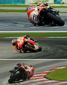 Marc Marquez elbow dragging. How on earth does he do that?