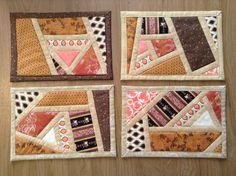 Mosaic mug rugs