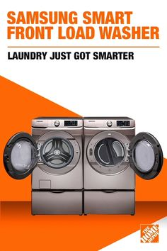 Efficiently wash and dry all your clothes in a go with this Samsung High Efficiency Champagne Front Load Washing Machine with Steam and Super Speed. Steam Cleaning, Cleaning Hacks, Washer Drum, Old Bed Sheets, Samsung Washer, All Natural Cleaners, Gas Dryer, Super Speed, Front Load Washer