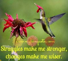 every struggle in your life has shaped you into the person