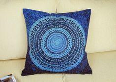 "CLEARANCE!........18/"" Aboriginal Dot Fabric Cushion Pillow Cover. 45cm"