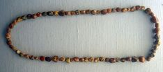 Anglo-Saxon Archaeology: West Stowe Amber beads from a female burial at Buckland.
