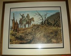 Cecil-Smith-On-the-Right-Trail-signed-and-numbered-Lithograph