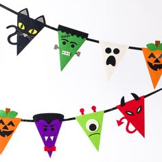 Halloween Characters Bunting Banner Price $12.95 @ Papyrus