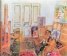 Raoul Dufy (French Fauvist, - Indian Model in the Studio at l'impasse Guelman Harlem Renaissance, Matisse, Raoul Dufy, Andre Derain, Georges Braque, Art Deco, Post Impressionism, Art Prints For Sale, Art Database
