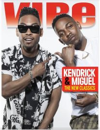 "It's a new generation! With a fresh new ""VIBE"". This is what Kendrick Lamar and Miguel  is bringing to the table as they cover Vibe Magazine, with a triple cover. {One together, and two of each artist]  The two, hot on the scene and trending rapper and musician talks about their different types of sounds, what inspires them, and their support for Frank Ocean's bold moves and risky music edge.  EIC;s Jermain Hall was quoted saying…….""Watching the rise of two future genius artists is rare."