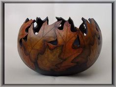 wow beautiful gourd bowl - but at $110 to $175 - I will be content to look at a Pin of it!