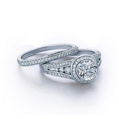 1-7/8 CT. T.W. Diamond Bridal Set in 14K White Gold - View All Rings - Zales