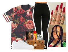 """""""Untitled #176"""" by kiatheplugg ❤ liked on Polyvore featuring Carmex, MCM and NIKE"""