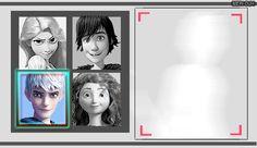 Viking, Dreamer, Archer, Guardian (Hiccup, Rapunzel, Merida, Jack)