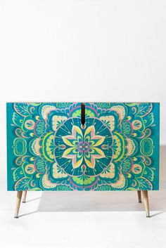 Pimlada Phuapradit Mandala 03 Credenza | DENY Designs Home Accessories