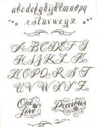 cursive letters tattoos - Koran.sticken.co
