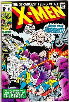 Uncanny X-Men 68 1963 Series May 1970 Marvel Comics Marvel Girls, Hq Marvel, Jack Kirby, X Men, Univers Marvel, Marvel Comic Books, Comic Books Art, Book Art, Deathstroke