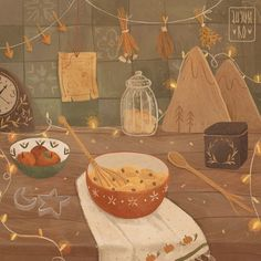 Creative Cooking Hacks - - Cooking Art Painting - Cooking Memes Kitchens - Cooking For Two Cheap - Cooking Recipes Families Art And Illustration, Illustration Agency, Autumn Aesthetic, Aesthetic Art, Arte Robot, Drawn Art, Witch Art, Cute Drawings, Cute Wallpapers