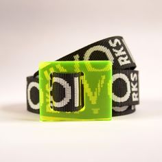 RBAN FAKTOR: Neon Dreams Belt Collection 2020, 100% upcycled transparent & glossy acrylic plastic Buckle combined with DYVÓ design recycled Nylon Strap. Limited edition: transparent Buckle and longer Strap. #upcycle #design #recycle #nature #handmade © DYVÓ Acrylic Plastic, Upcycle, Recycling, Neon, Urban, Dreams, Nature, Handmade, Collection