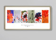 Size 10x20 Holds up to 6 pieces of artwork. This is a beautiful design that has a clean gallery presentation. This design needs vertical artworks, ...