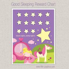 Good Sleeping Princess Reward Chart Download