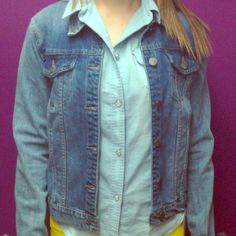 Blue jean jacket Cute denim jacket Jackets & Coats Jean Jackets