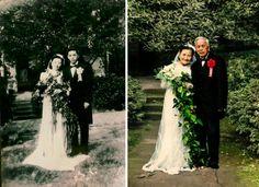 Сохранив любовь: фотографии пар спустя годы #лайфхаки #технологии #вдохновение #приложения #рецепты #видео #спорт #стиль_жизни #лайфстайл