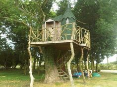 Fast Jedes Kleine Kind Träumt Davon, In Einem Baumhaus Zu Leben. Während  Einige Von Uns Diesen Wunsc