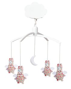 Mobile musical ange lapin liberty Trousselier
