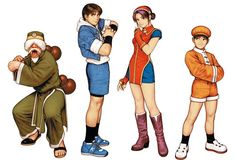 The King of Fighters 99. I used to fight w/ Athena's team a lot.