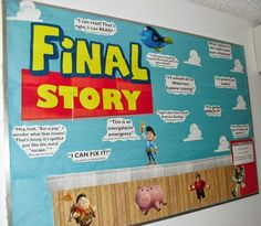 Apr/May West Campus Winner #2: Farley RA Katie Edin's bulletin board Final Story