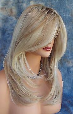 Blonde Wigs for Black Women Synthetic Lace Front Wigs Long Wavy Heat Safe Fiber Hair Wig Free Part Glueless Hair Blonde Lace Front Wigs, Blonde Wig, Brown To Blonde, Synthetic Lace Front Wigs, Synthetic Wigs, Pretty Hairstyles, Wig Hairstyles, Haircuts, Human Lace Wigs