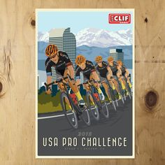 USA Pro Challenge Clif Poster Hannah Bailey