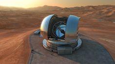 In Chile beginnt der Bau des größten Teleskops der Welt. Es soll neue Erkenntnisse über Dunkle Materie bringen und möglicherweise auch Leben im All finden. Bei der Zeremonie zum Baubeginn gab es ein Problem.